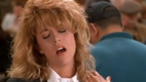 Meg Ryan Orgasm face